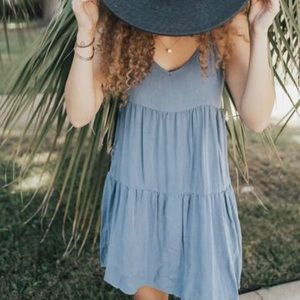 New - Carly Jean Los Angeles Sloan Dress Blue
